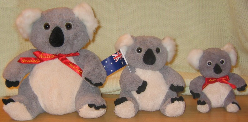 Soft and super squishy koala Teddy bears