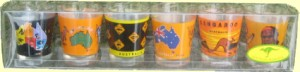 Shot glasses - Australian designs