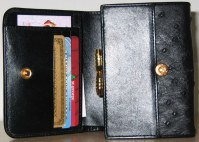 Ladies Wallet Style #88042 inside view