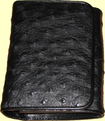 Ostrich Wallet Purse for Woman